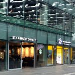 A Hague coffee at Starbucks the Hague Central