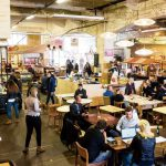 Foodhal MingleMush behind the Hague Central