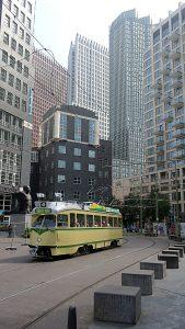 Tourist tram Den Haag Centrum